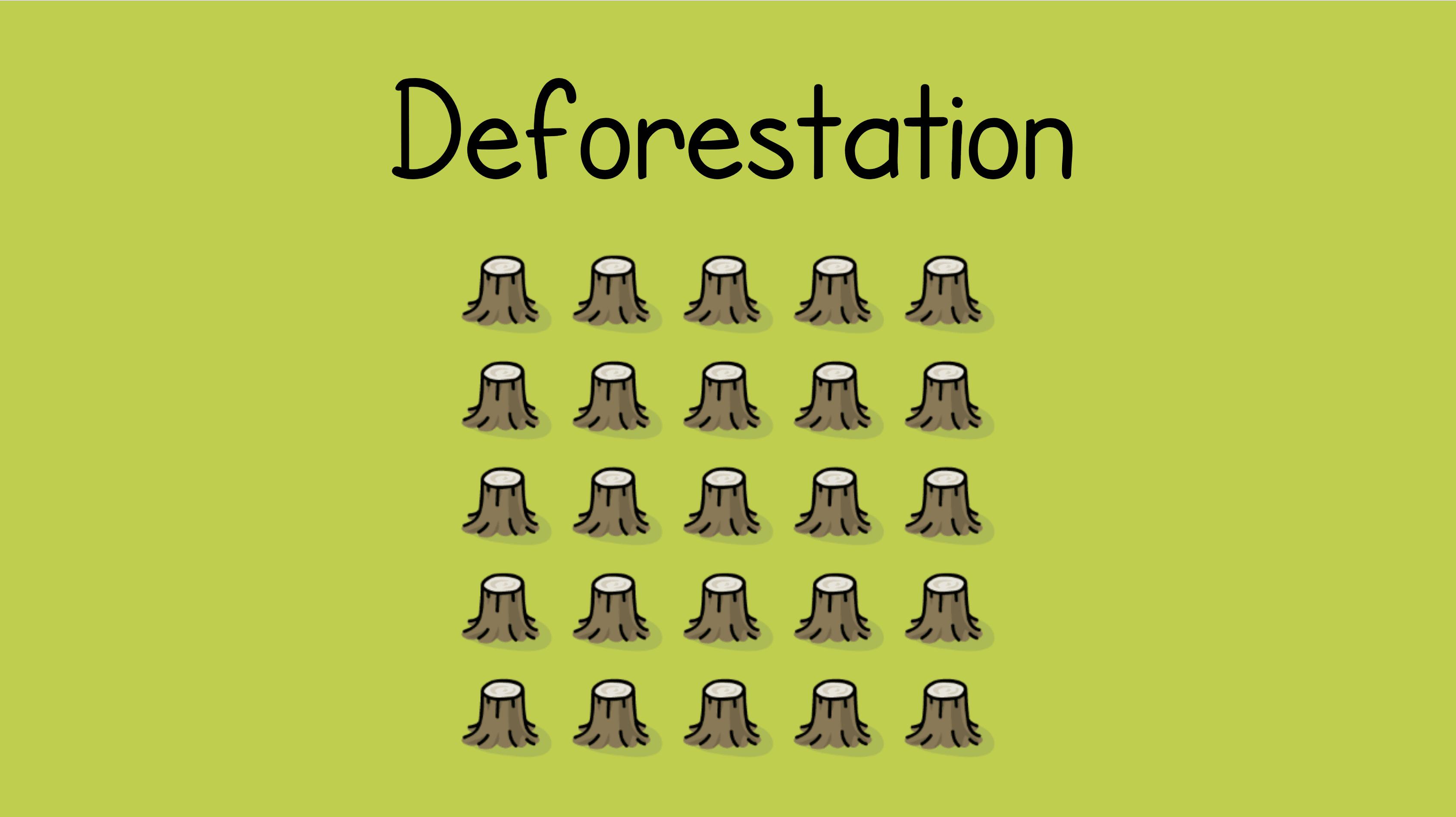 Year 7 - Deforestation Presentation